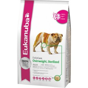 EUKANUBA Daily Care Overweight - Sterilised  12.5kg