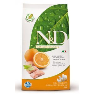 ND Fish&Orange Adult Dog 800g
