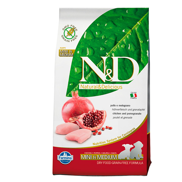 ND Chicken & Pomegranate Puppy Small and Medium