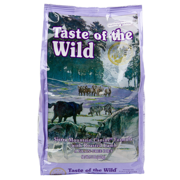 Taste of the wild  Sierra Mountain 13.6kg