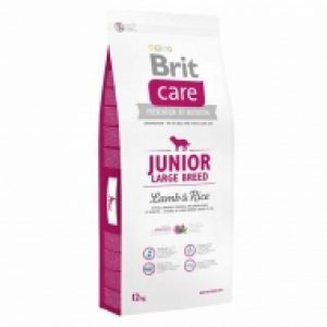 BRIT CARE JUNIOR LB LUMB&RICE 12KG