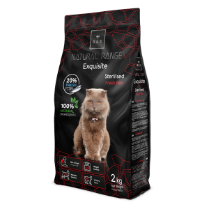 REX CAT NATURAL RANGE STERILIZED RIBA 12 KG promotivna cijena!