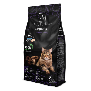 REX CAT PLATINUM PILETINA PURICA 2 KG