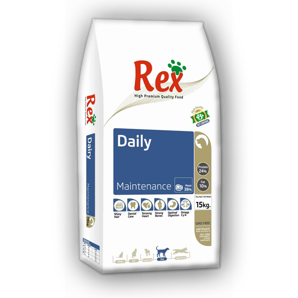 REX DAILY ADULT 15kg 1