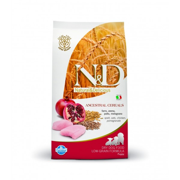 ND LG Puppy Chicken&Pomegranate 200g