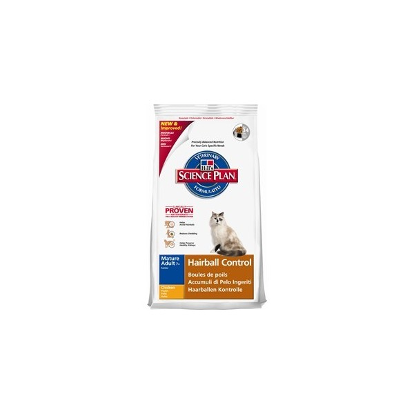HILL'S Feline HAIRBALL CONTROL MATURE 1.5kg