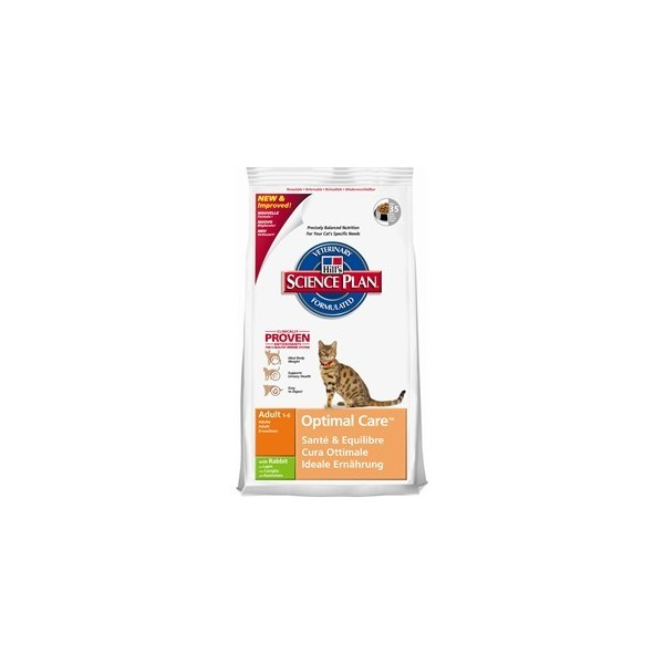 HILL'S Feline Adult Optimal Care Kunić 10kg