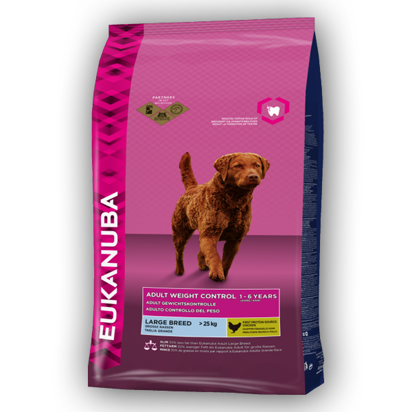 EUKANUBA Adult Large Weight control 15kg 1