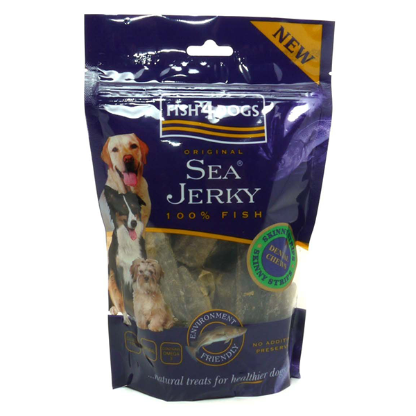 F4D Sea Jerky STRIPS 100g