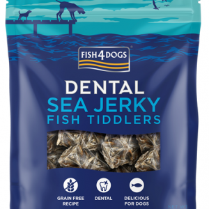 F4D Sea Jerky TIDDLERS 100g 1