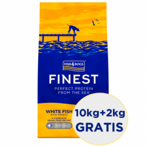 Finest F4D White Fish (Regular Bite) 12kg