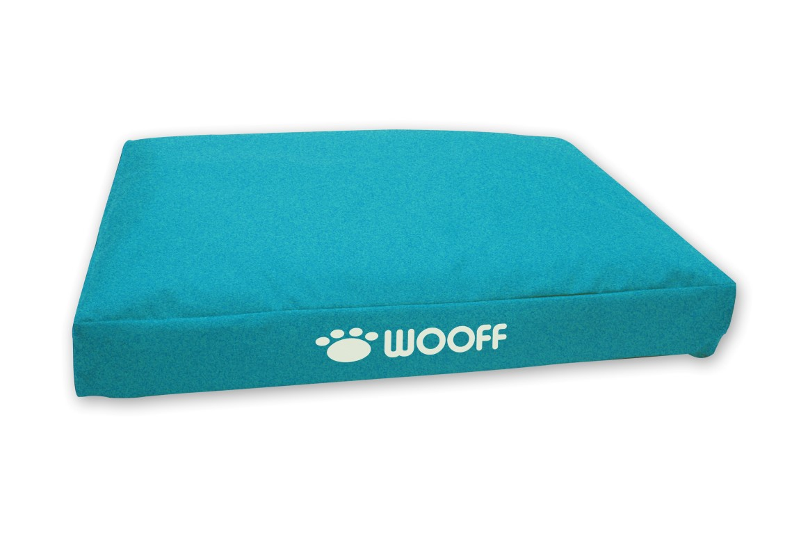 Wooff box all weather 55x75x15cm - aqua