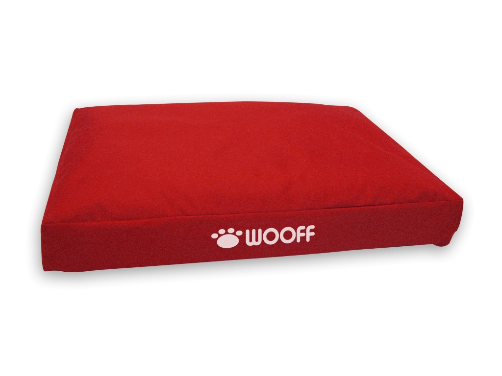 Wooff box all weather 55x75x15cm - red