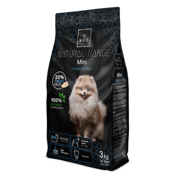 REX NATURAL RANGE MINI 3 KG
