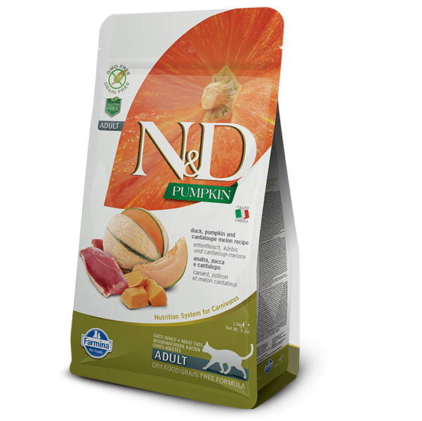 N&D CAT GF Pumpkin Duck & Cantaloupe Mellon 1,5kg 1