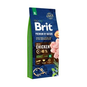 Brit Premium by Nature Adult M 15KG 1