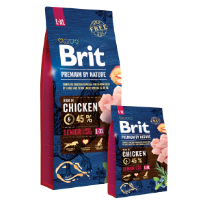BRIT Premium by Nature SENIOR Large/Extra Large Breed, 15kg