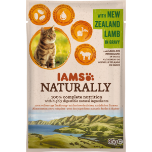 Iams Naturally - NORTH ATLANTIC SALMON in gravy 85g (Kopiraj)