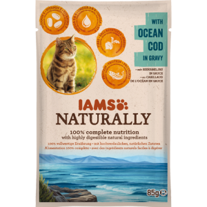 Iams Naturally - OCEAN COD in gravy 85g