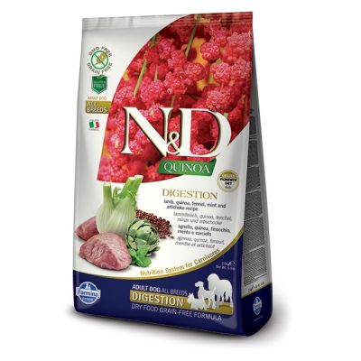 N&D Grain Free Quinoa Digestion - Janjetina 2,5kg