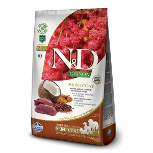 N&D Grain Free Quinoa Skin & Coat - Patka 7kg