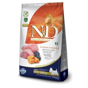 N&D PUMPKIN GF ADULT MINI - Lamb & Blueberry 2,5kg