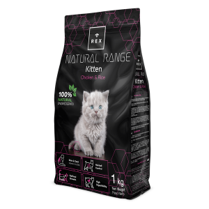 REX NATURAL RANGE KITTEN 1 KG