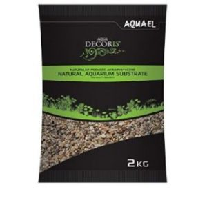 Aquael Šljunak za Akvarij Kvarcni Multicolored Gravel 1,4MM-2MM 10KG 1
