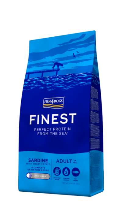 Finest Fish4Dogs Sardine & Sweet Potato large 6kg